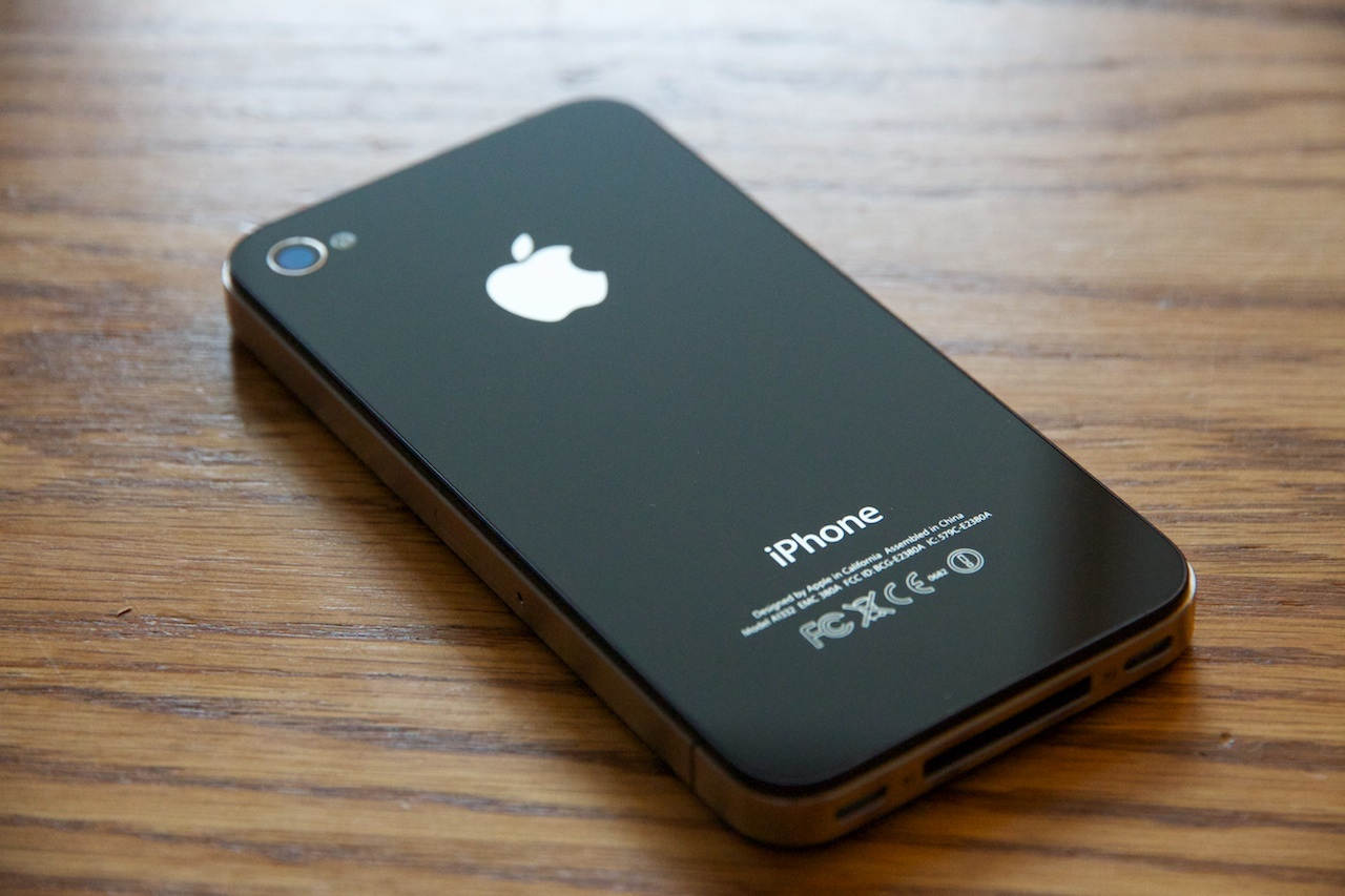 apple iphone 4 32gb black gsm factory unlocked mc605c a. Black Bedroom Furniture Sets. Home Design Ideas